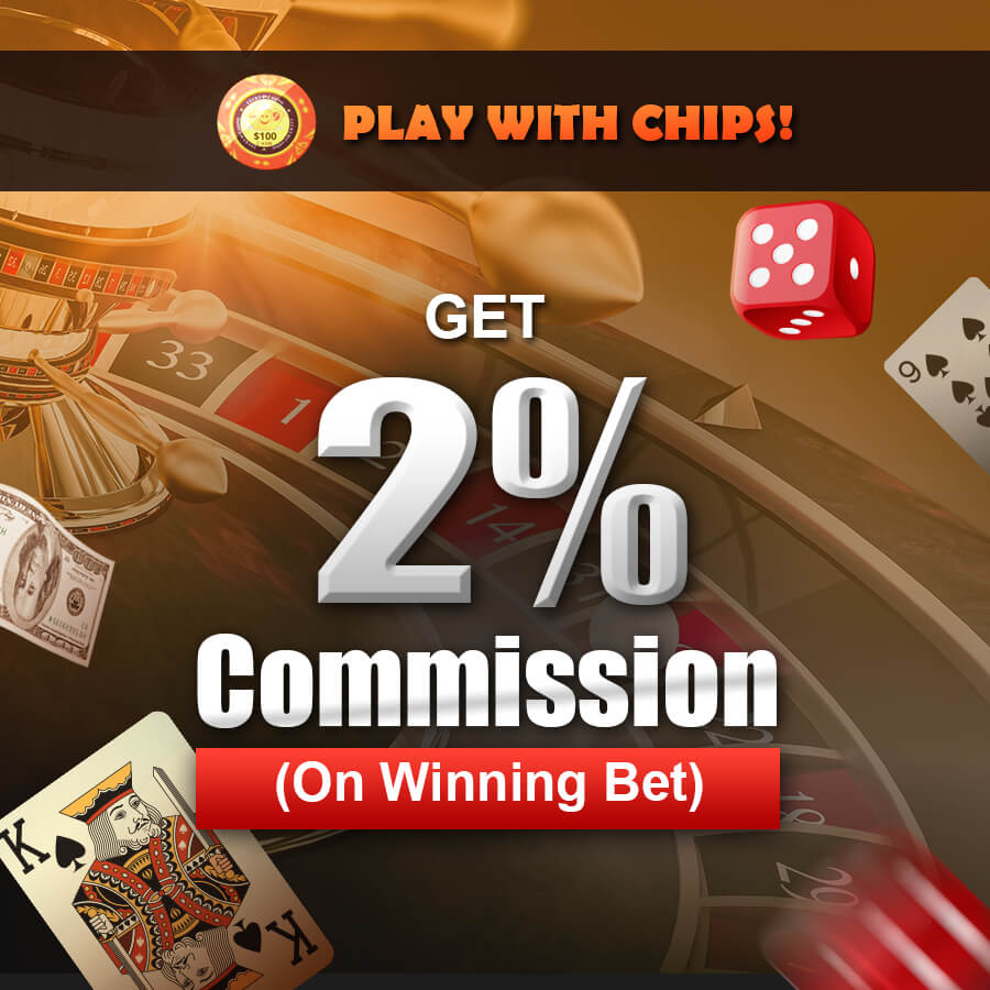 High Commision Rebate On Winning Bet
