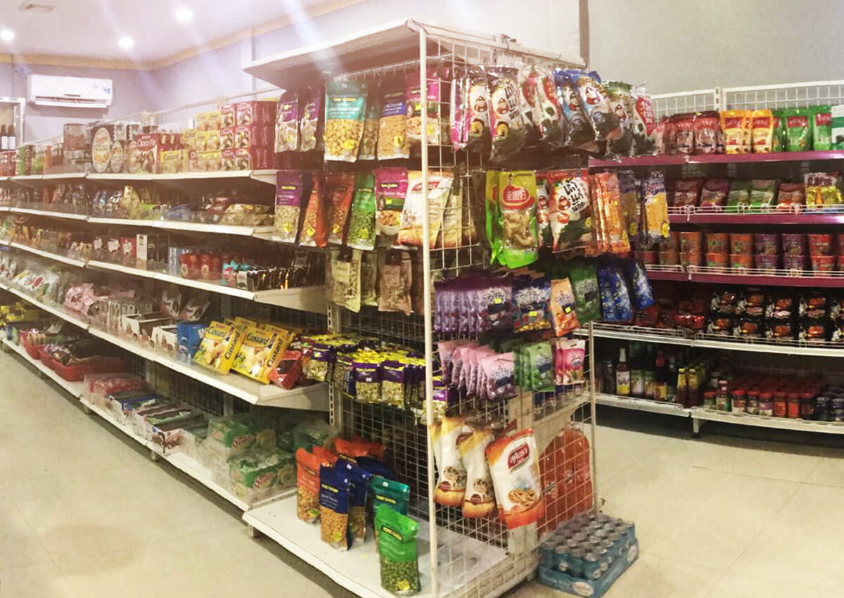 Mini Mart With Multi Brand Foods & Daily Amenities